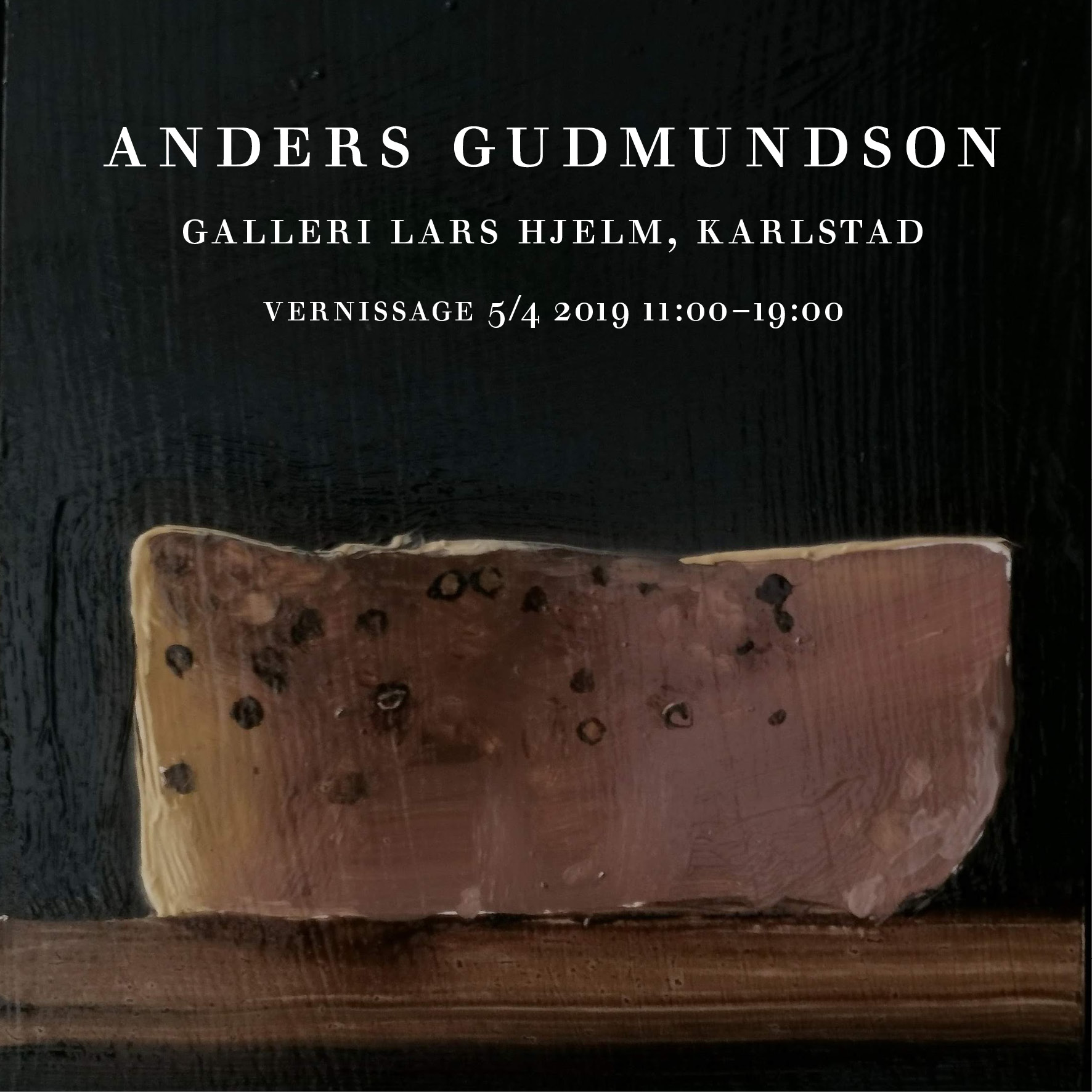 Vernissage hos Galleri Lars Hjelm i Karlstad 5 April